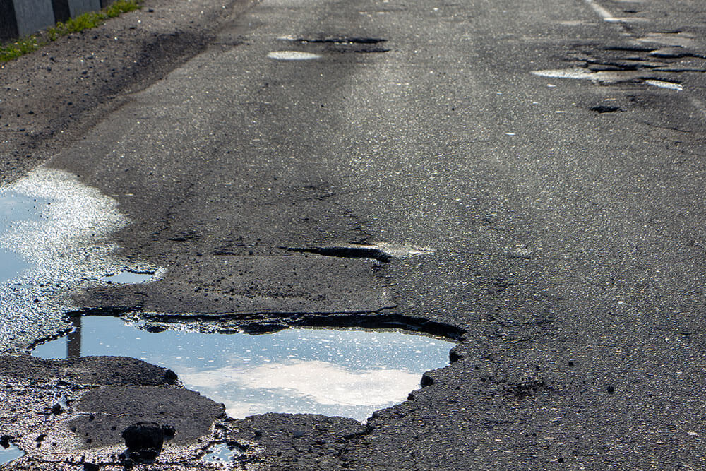 Pothole Damage Know The Warning Signs